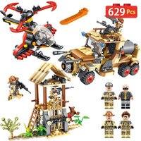 Guard The Tank Car Blocks Compatible LegoINGLY City Series Eductional Building Bricks Fun Toys Enlightening for Children