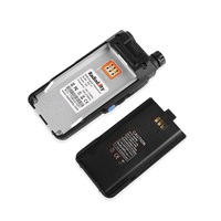מכשיר הקשר 2pcs Radioddity GD-77 Dual Band Dual זמן חריץ DMR דיגיטלי אנלוגי שני הדרך רדיו 136-174 400-470MHz Ham מכשיר הקשר עם כבל (4)