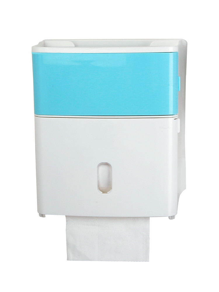 Wall mounted Bathroom Tissue Dispenser Tissue Box Holder for Multifold Paper Towels Toilet Paper Home Tissue Container Creative