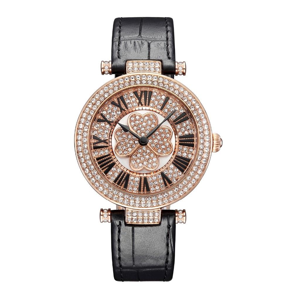 Nowości Austriacki zegarek kwarcowy Crystal BP Luksusowy zegarek - Zegarki damskie - Zdjęcie 1