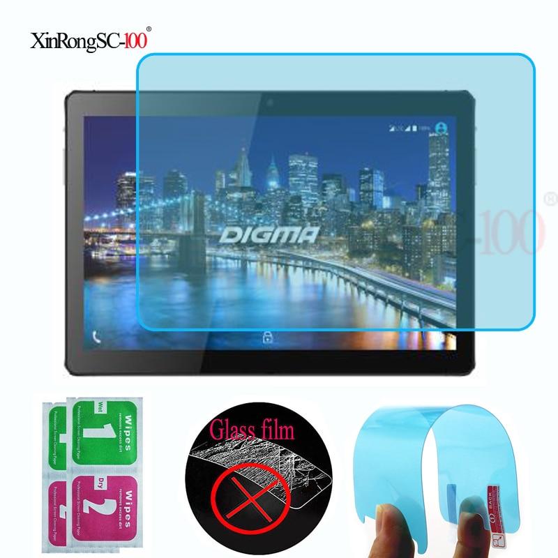 Мягкая защитная пленка из ТПУ с нанопокрытием для экрана, Защитная пленка для планшета DIGMA Plane 1551S 4G PS1164ML 10,1