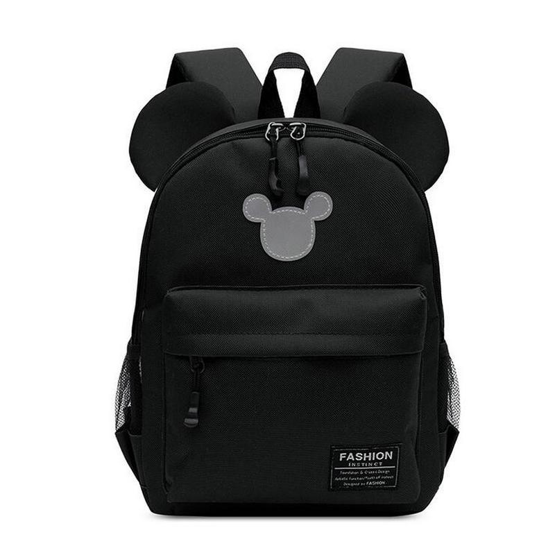 Cartoon kindergarten schoolbag baby kids Mickey children's backpack  1