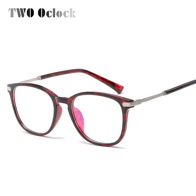 TWO Oclock 2017 Stylish Optical Glasses Women Men TR90 Eyeglasses ...