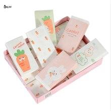 BXLYY, 3 упаковки, креативная мультяшная печать, бумага для лица, модные салфетки, вечерние, трехслойные, портативные, одноразовые, Tissue.7z