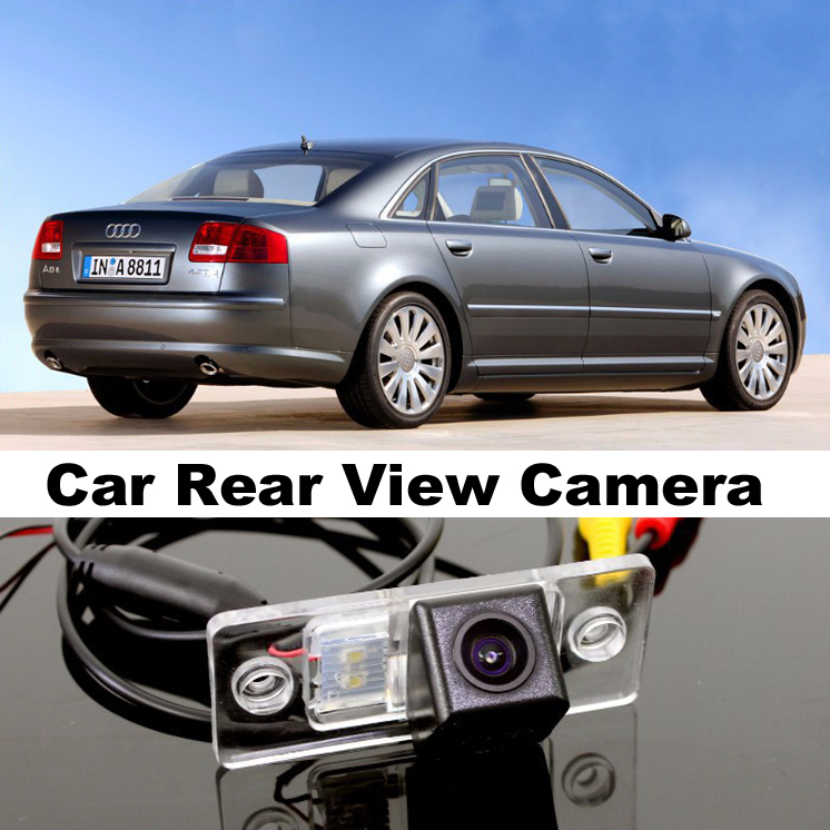 Car Camera For <font><b>Audi</b></font> <font><b>A8</b></font> A8L S8 <font><b>D3</b></font> <font><b>4E</b></font> 2002~2007 High Quality Rear View Back Up Camera For TOPGEAR Friends Use | CCD + RCA image