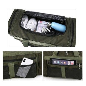 Nylon Luggage Gym Bags Outdoor Bag Large Traveling Tas For Women Men Travel Dufflel Sac De Sport Handbags Sack Bag 5