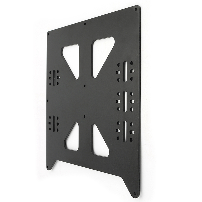 Image 5 - Black Aluminum Y Carriage Anodized Plate Upgrade V2 Prusa I3 V2 Hot Bed Support Plate For Prusa I3 Diy 3D Printer Parts-in 3D Printer Parts & Accessories from Computer & Office