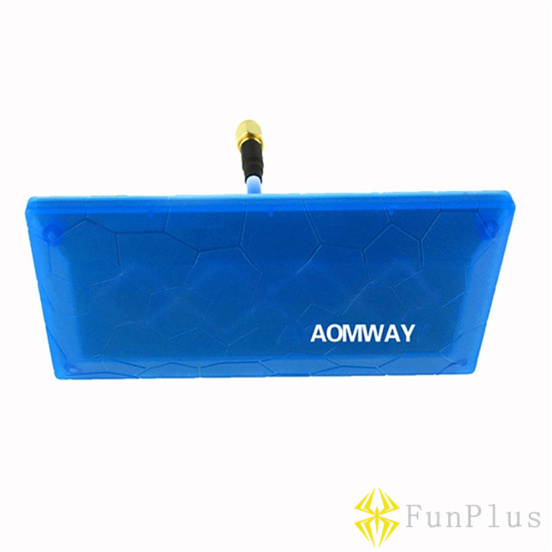 Aomway FPV 5.8G 13db Diamond Directional Antenna High Gain Antenna Signal Booster SMA RP-SMA or RC Receiver Drone Accessories yuneec typhoon h480 transmitter signal antenna extended omni directional signal range for rc typhoon h480 quadcopter