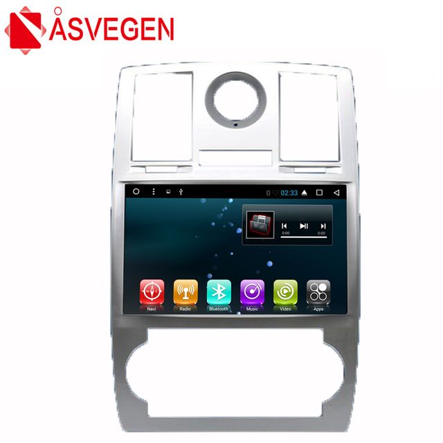 Asvegen 9'' HD Android 6.0 Quad Core Car Radio For Chrysler 300C 2010-2014 DVD Player With GPS 3G 4G WIFI BT SWC Navigation
