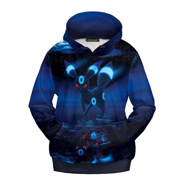 2016 Nova Pokemon Ir roupas luva longa Das Meninas hoodies moletons roupas de outono