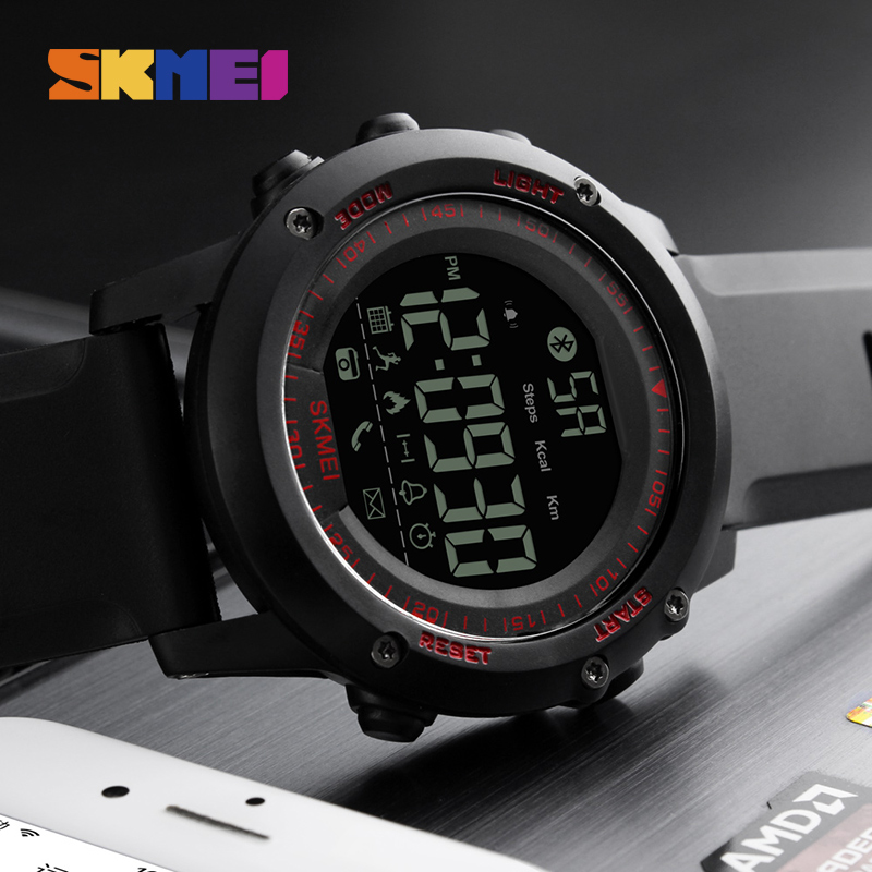 Digital Watches Capable Compass Sports Watches Men Skmei Led Digital Watch For Man Clock Top Brand Luxury Pedometer Calories Waterproof Reloj Hombre Watches