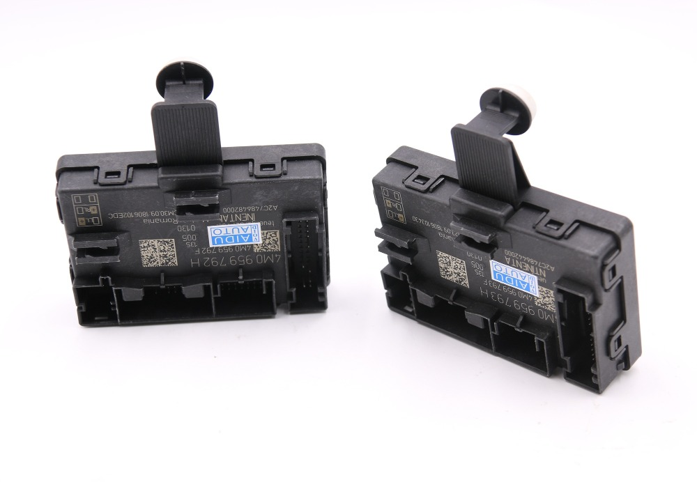 FOR Audi Q7 4M Door Module Support Side Assist 4M0 959 792 H 4M0 959 793 H in Cables Adapters Sockets from Automobiles Motorcycles
