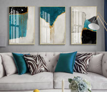 Factory wholesale (No Framed) Modern abstract art Canvas Print On Printing Wall Pictures-QSCX