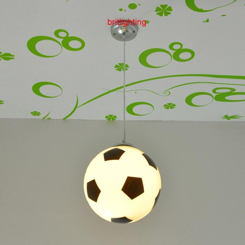 Moderne hanger lampen voetbal verlichting voor kamer kind moderne hanglampen voor slaapkamer - Kamer originele kind ...