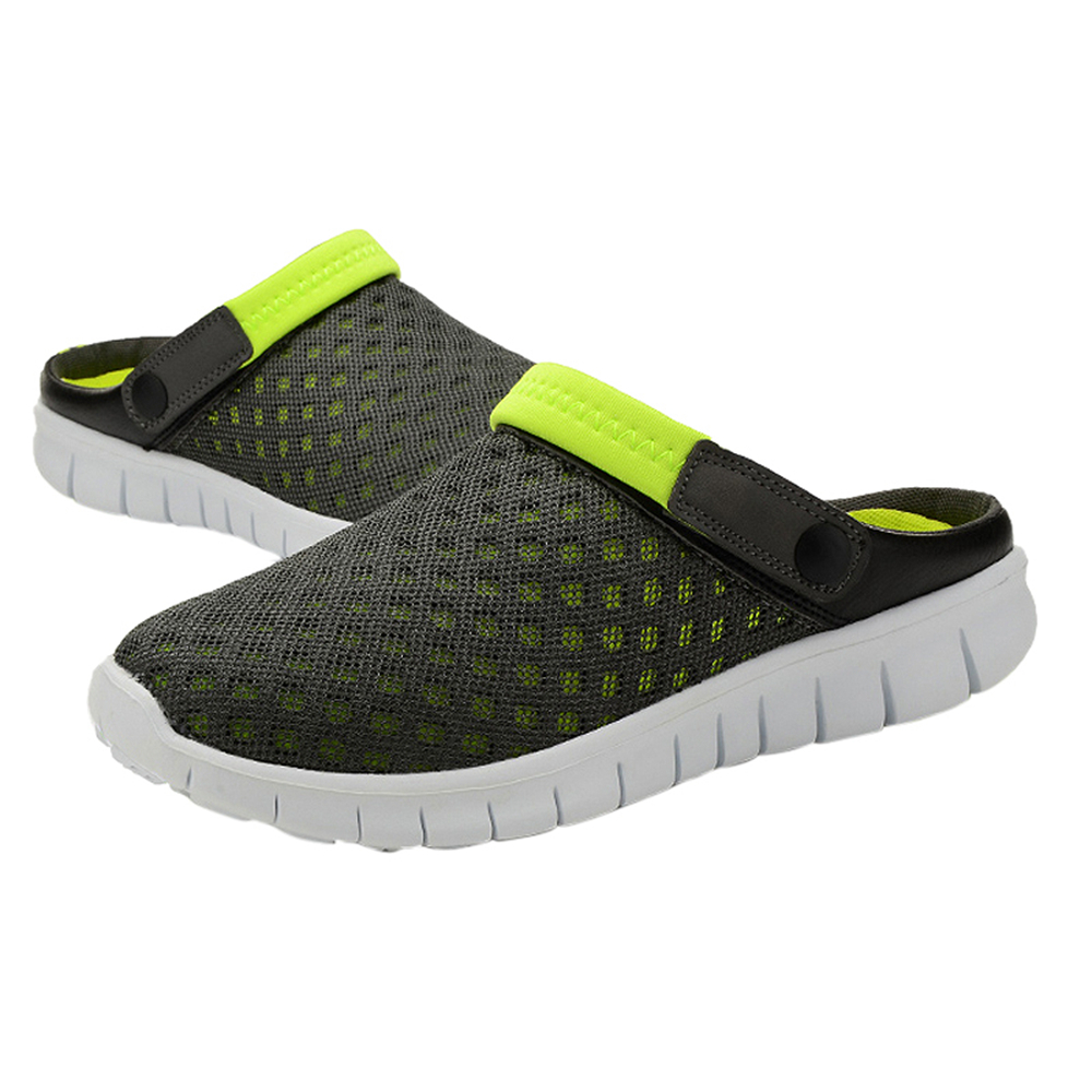 ABDB-Summer New Men Women Slip-on Sneakers Hot Sale Mesh Breathable Sports Leisure Shoes Unisex Couples Casual Shoes zeacava new summer breathable casual sports tide shoes men s shoes
