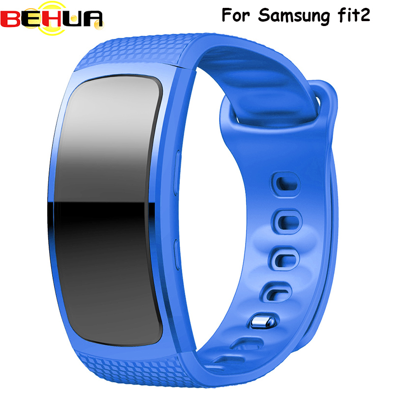 Silicone Strap For Samsung Gear Fit2 Band Soft Replacement Watch Band Plastic Wristband for Samsung Gear Fit 2 R360 Smart Watch