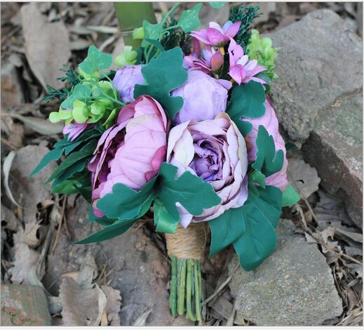 Nouveau créatif coréen demoiselle d'honneur demoiselle d'honneur fleur mariage bouquet imitation fleur fleur accessoires de mariage ameublement
