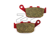 Motorcycle parts Brake Pads Fit HONDA CB 250 FT/FV/FX/FY/F1 Hornet 1996-2001 Rear OME Red Ceramic Composite Free shipping