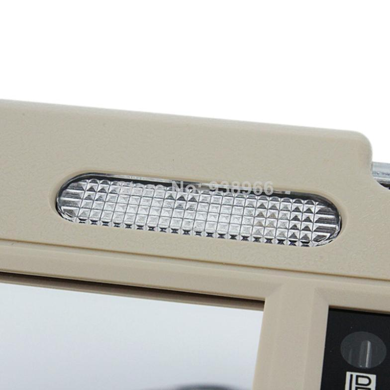 7 inch TFT LCD Car Sun Visor Monitors Display two way Video Input Reversing Switch Priority - 4