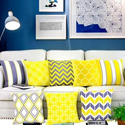 Decorative Pillows Covers Geometric