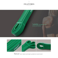 Zacro Fitness Rubber Bands Resistance Band Unisex 208Cm Yoga Athletic Elastic Bands Loop Expander for Exercise Sports Equipment