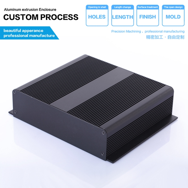 204*48-90mm (WxHxL) extruded aluminum enclosure boxes / aluminum storage box / DIY circuit board aluminum housing 152 44 130 mm wxhxl aluminum extruded electronic housing box as per customer s drawing