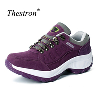 Thestron Womens Running Shoes Good Quality Womens Sports Shoes Spring Running Trainers For Women Purple Red