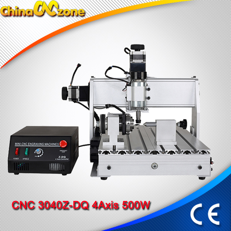 CNC 3040 3Axis Milling Machine 500W CNC 3040 USB Mach3 Router Ball Screw USB Line DIY Drilling Engraving Machine For Wood(China)