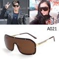 2016 New Fashion Cool Club Rivet Sunglasses Gggles Men Golden Flash Sun Glasses Oversized Rectangle Oculos De Sol Masculino A021
