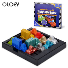Boys Toys Girls Traffic Jam Time Game Children'S Thinking Logic Clearance Game Puzzle Intelligence Toy Board Game For Gift
