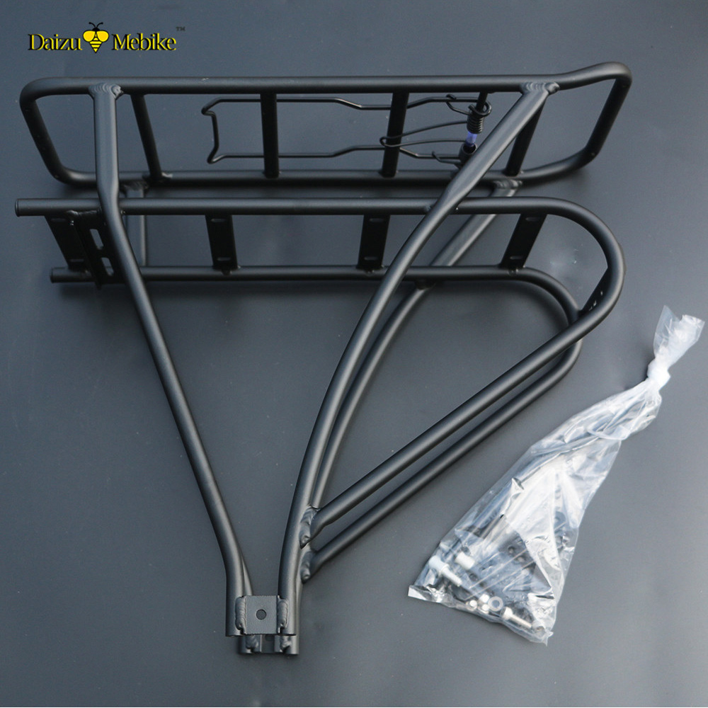 Aluminum Bike Rack Bicycle Carrier Black Bagagedrager Voor Mtb Ebike Bisiklet Aksesuar B ...
