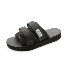Moxxy 2018 New Original Design Spring Summer Beach Slippers Casual Women Slip on Flip Flop Shoe Plus Size Black Couple Shoes