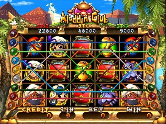 Aladdin Club slot game board/casino PCB for slot arcade game cabinet/Coin operator machine/amusement cabniet good quality coin operated tabletop gumball vending machine desktop capsule vending cabinet toy penny in the slot coin vendor