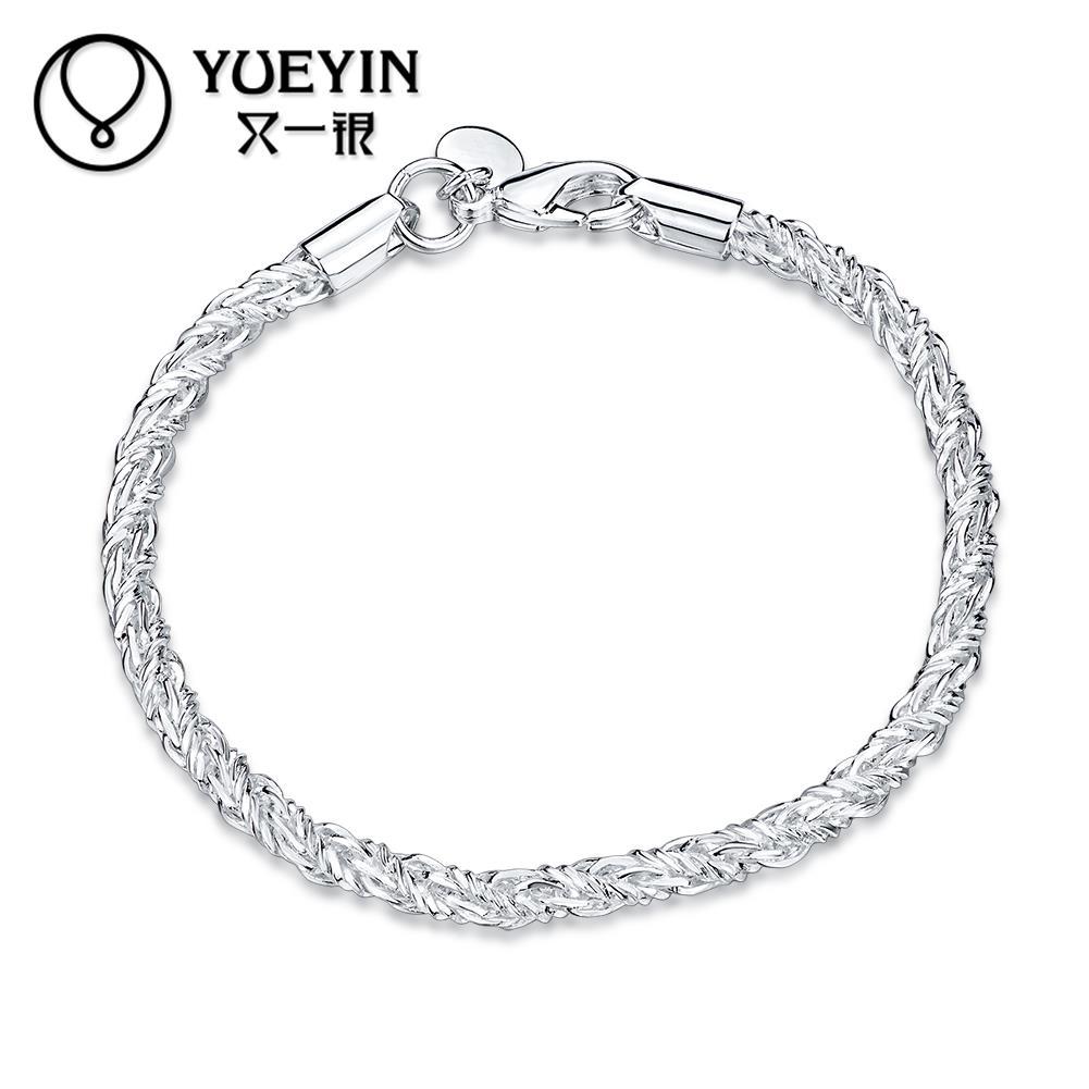 Bracelet Silver Plated Bracelet Fashion Jewelry Bracelet Women Jewelry Free Shipping