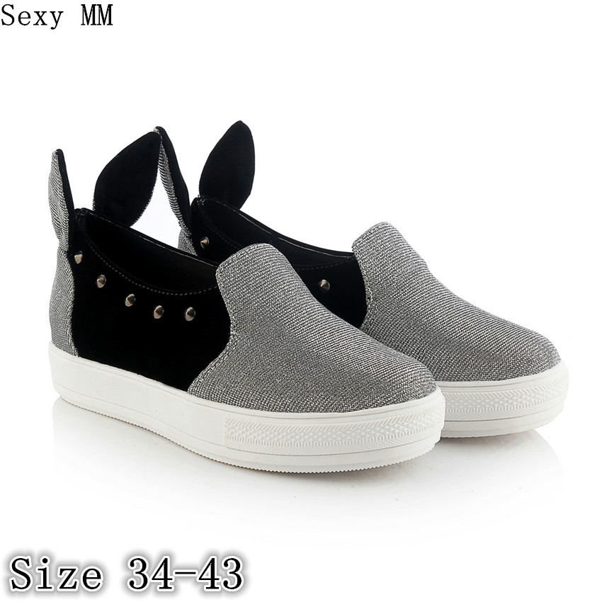 Slip On Shoes Women Oxfords Shoes Loafers Flats Woman Casual Flat Shoes High Quality Plus Size 34 - 40 41 42 43 2017 fashion women shoes woman flats high quality casual comfortable pointed toe rubber women flat shoes plus size 35 42 s097