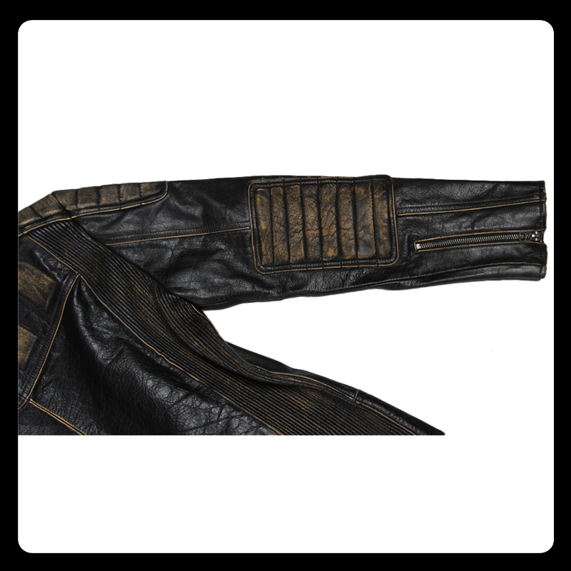 HTB1ySo6cYsTMeJjSsziq6AdwXXaK MAPLESTEED Vintage Motorcycle Jacket Men Leather Jacket 100% Cowhide Genuine Leather Jackets Mens Biker Coat Moto Jacket 5XL 090