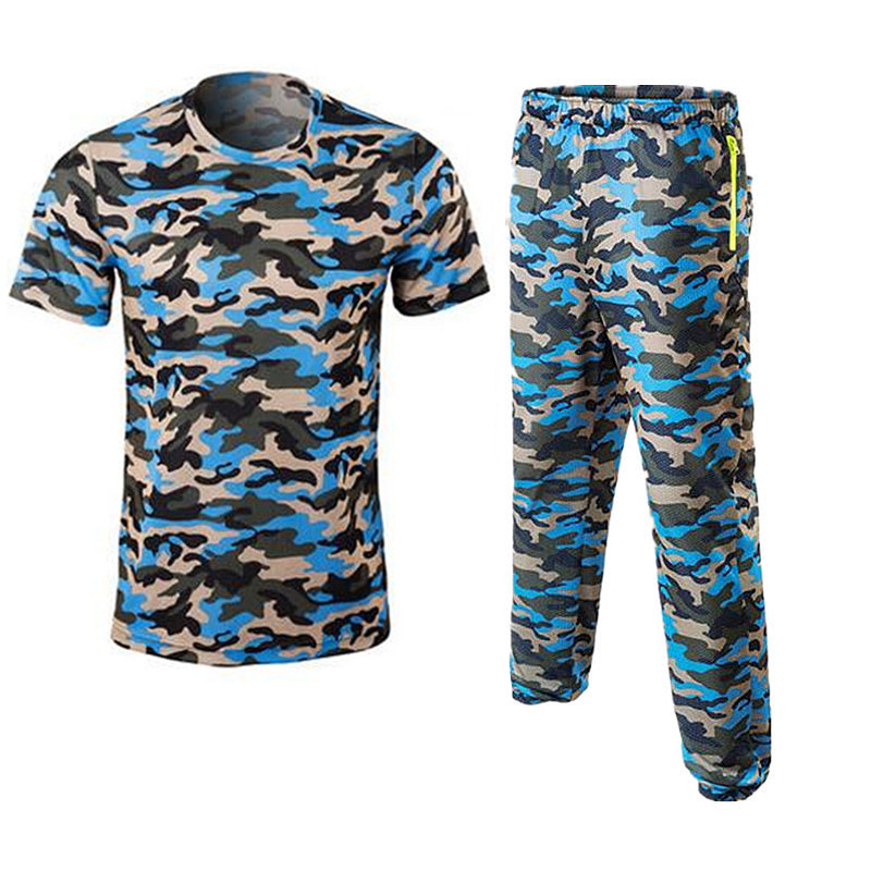 2018 New summer camouflage Outdoor sport fishing clothes breathable quick dry Anti UV Anti mosquit fishing Shirts