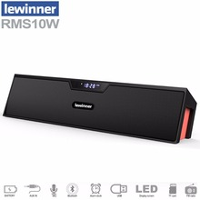 Big power 10W lewinner HIFI portable wireless bluetooth Speaker Stereo Soundbar TF FM radio subwoofer column