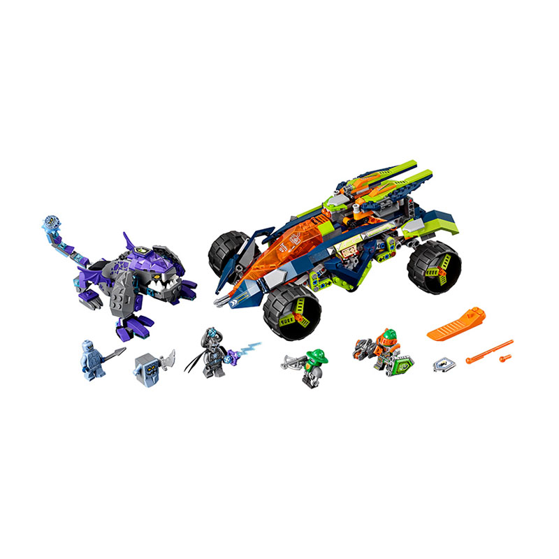 gifts Pogo Bela 10704 Pogo Nexus Nexo Knights Powers Pouvoirs Aaron Lance Clay Building Blocks Bricks Compatible Legoe Toys lepin 75821 pogo bela 10505 birds piggy cars escape models building blocks bricks compatible legoe toys