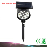 20X DHL Led Solar Sunlight Outdoor IP65 Spotlights Solar Energy Garden Lawn Lamp Lights Path Landscape