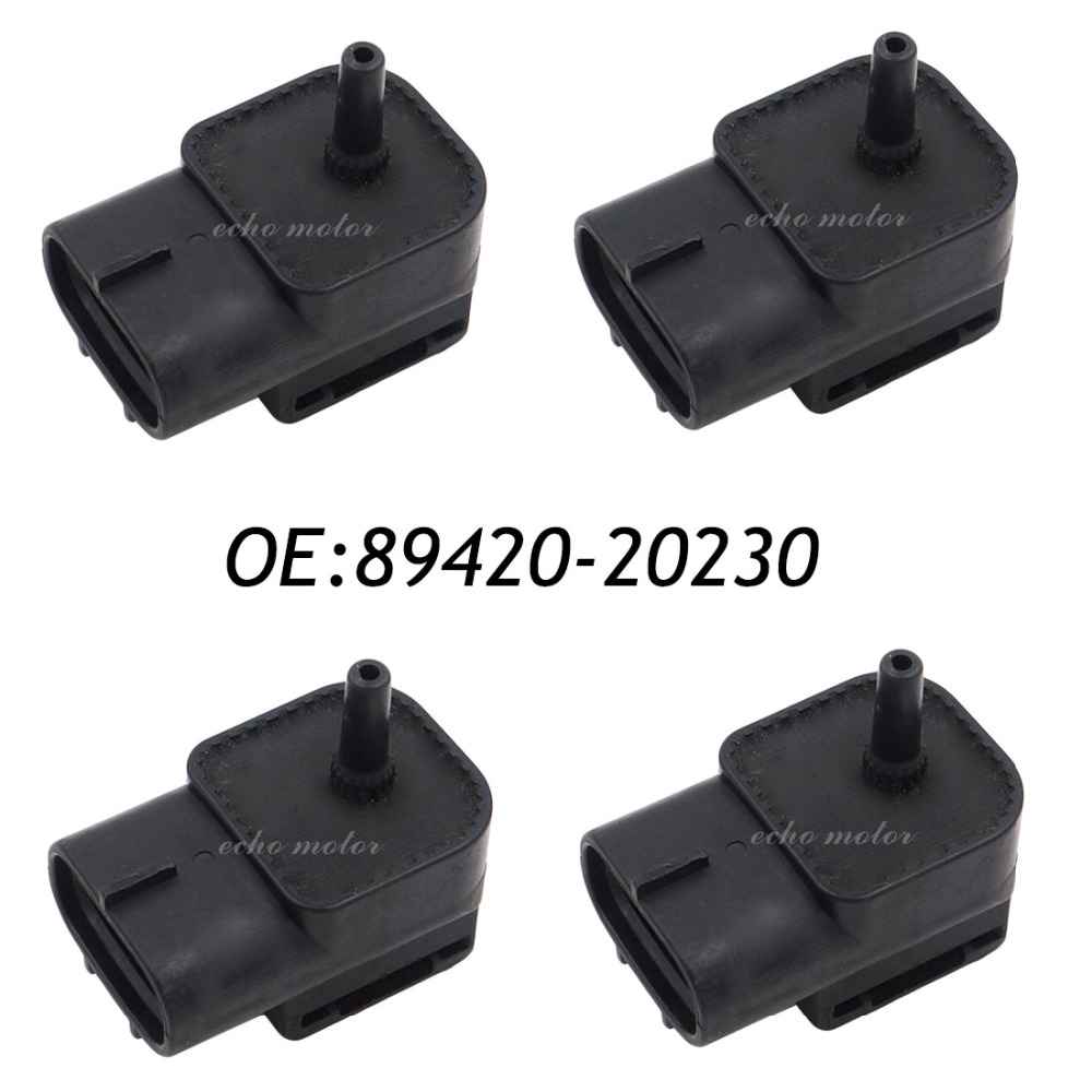 все цены на New 4PCS Manifold Absolute Pressure MAP Sensor For Chevrolet Aveo Aveo5 DAEWOO Kalos Matiz 25184081 96330547 онлайн
