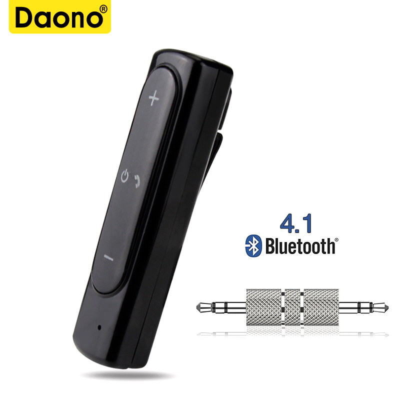 Sports Wireless Bluetooth Headphones Audio Receiver Adapter For 3.5mm Jack Earphones Bluetooth Transmitter W/mic For Xiaomi