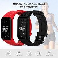 MGCOOL Band 3 Sport Smartband IP68 Waterproof Fitness Tracker Wristbands Heart Rate Monitor Calorie Bracelet Notification Watch