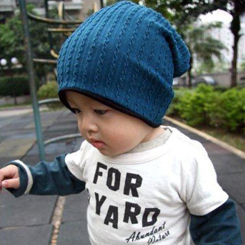 Sping Winter Weave Knit Baby Beanie 2017 Fall Fashion Ski