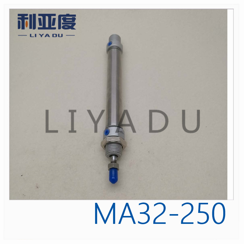 MA32-250 stainless steel cylinder MA32X250 miniature 32mm Bore 250mm Stroke MA32*250-S-CA MA32*250-S-CM MA32*250-S-U bore 32mm 250mm stroke ma stainless steel double action pneumatic cylinder air cylinder gas cylinder ma32 250