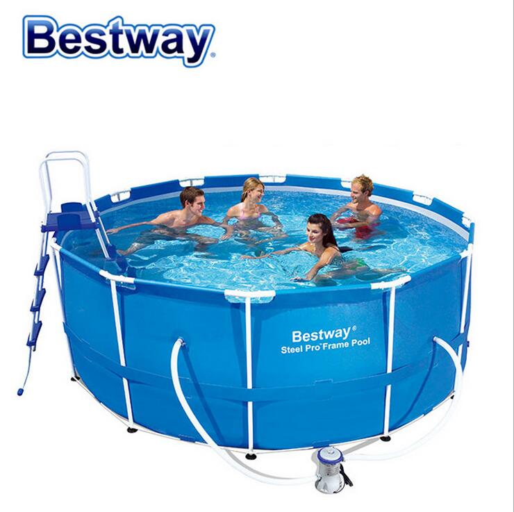 Bestway56088 Large Family Swimming Pool Children Swimming Pool For Adults Thickened Round 366