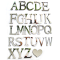 2019 New Acrylic Mirror 3D DIY wall stickers stickers English letters home decoration creative personality Special