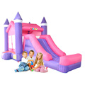 YARD Принцесса Надувные Прыжки Надувной Замок Перемычки Moonwalk для Жилых Дети Birthday Party Открытый Батут Матрас
