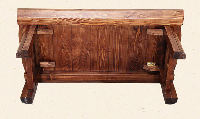 Japanese Antique Low Table Wooden Rectangle Folding Legs Asian Furniture  Traditional Living Room Solid Wood Table For Dinning - Online Shop Japanese Antique Low Table Wooden Rectangle Folding Legs