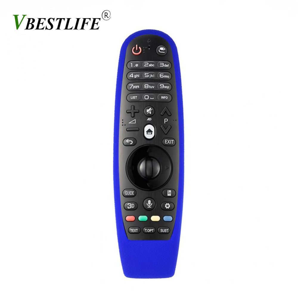 VBESTLIFE Universal Anti-drop Shockproof Protective Silicone soft Case Cover for LG AN-MR600 TV Remote Controller